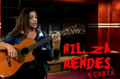 Nilza Mendes – Gravação studio TVJAMPA
